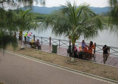 بحيرة بيريس في ولاية قدح (3)