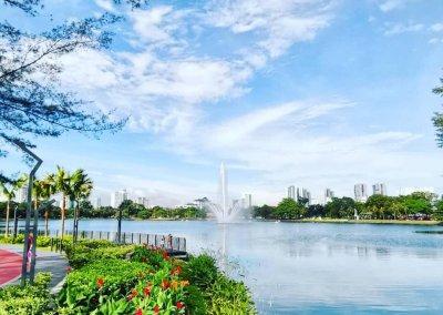 بحيرة ومتنزه Titiwangsa Park كوالالمبور (17)