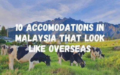 وكأنك خارج ماليزيا