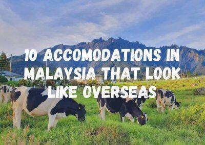 بعض الاماكن في ماليزيا وكأنك بإجازة خارجها (1)