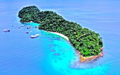 جزيرة بولاو بايار كنز الشعب المرجانية