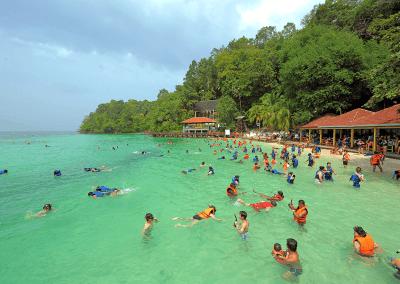 جزيرة بولاو بايار كنز الشعب المرجانية (2)