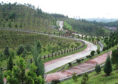 حديقة ذات طراز أوروبي مخبأة في بوتراجايا (16)