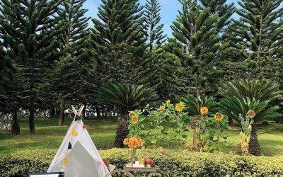 حديقة ذات طراز أوروبي مخبأة في بوتراجايا