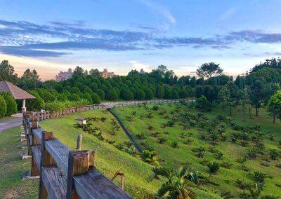 حديقة ذات طراز أوروبي مخبأة في بوتراجايا (7)