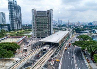 خط السكك الحديدية بوتراجايا MRT (2)