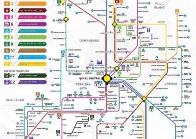 خط السكك الحديدية بوتراجايا MRT (21)