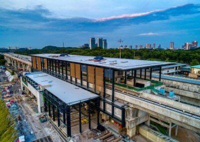 خط السكك الحديدية بوتراجايا MRT (7)