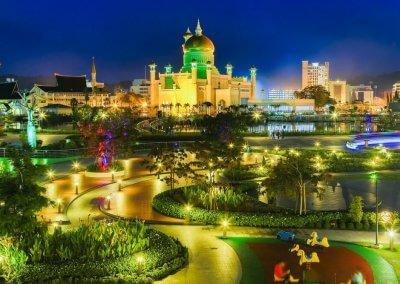 دولة بروناي الـ 5 عالميا بمعدل مستوى الفرد (13)