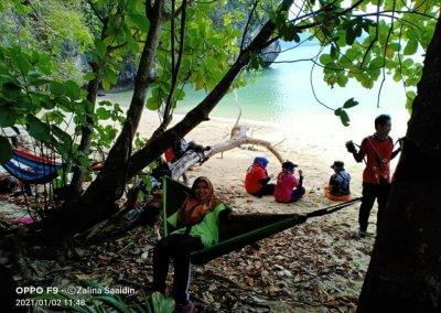 شاطئ الجماجم البيضاء المخفي في لنكاوي (21)
