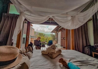 فندق داخل غابة يبعد ساعه عن كوالالمبور (14)