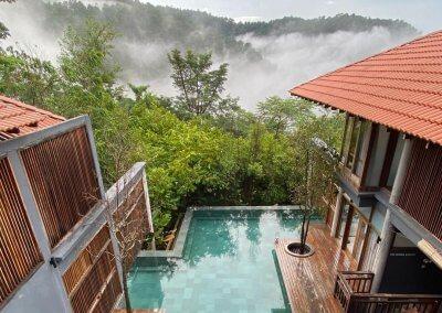 فندق داخل غابة يبعد ساعه عن كوالالمبور (2)
