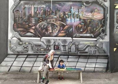 فن الشارع في شاه علم (10)