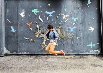 فن الشارع في شاه علم (6)