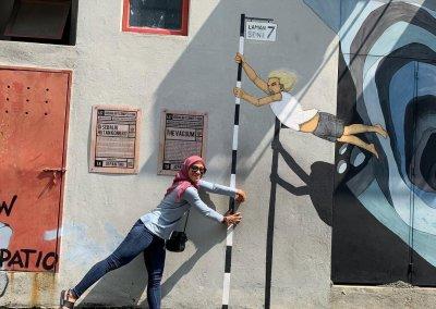 فن الشارع في شاه علم (9)