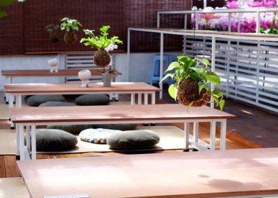 كافيه داخل مشتل وورد ونباتات (12)