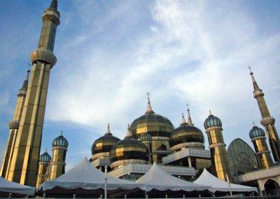 مسجد الكريستال في ماليزيا (12)