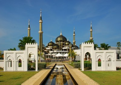 مسجد الكريستال في ماليزيا (13)