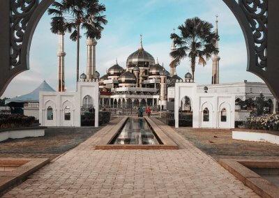 مسجد الكريستال في ماليزيا (2)