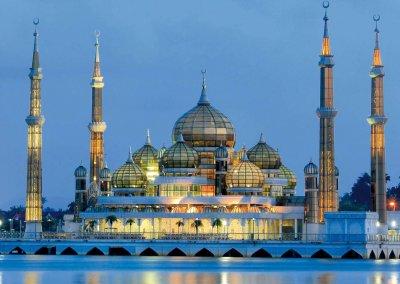 مسجد الكريستال في ماليزيا (3)