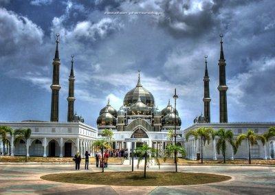 مسجد الكريستال في ماليزيا (4)