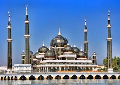 مسجد الكريستال في ماليزيا (6)