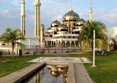 مسجد الكريستال في ماليزيا (7)