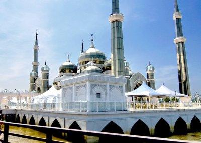 مسجد الكريستال في ماليزيا (8)