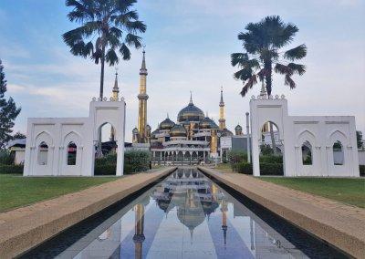 مسجد الكريستال في ماليزيا (9)