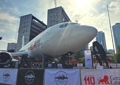 مطعم Plane In The City (10)