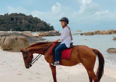مغامرة ركوب الخيل في جزيرة لنكاوي (16)