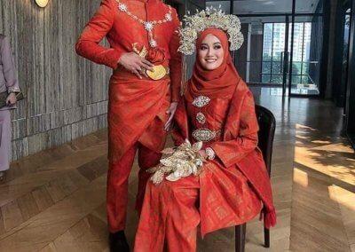 ملابس الزواج الماليزية التقليدية (1)