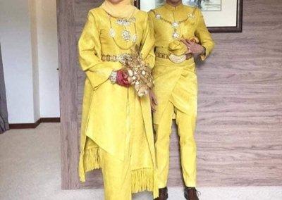 ملابس الزواج الماليزية التقليدية (10)