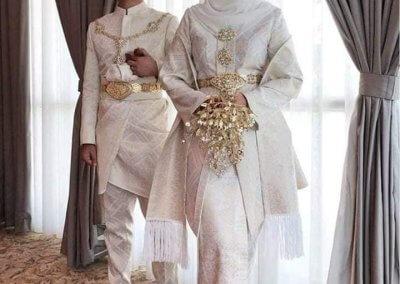 ملابس الزواج الماليزية التقليدية (11)