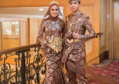 ملابس الزواج الماليزية التقليدية (12)