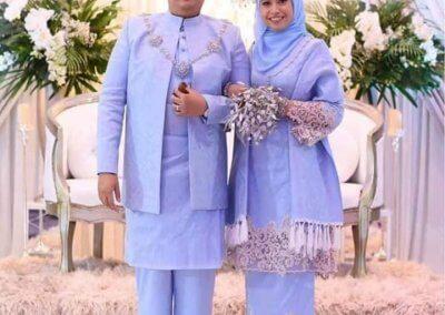 ملابس الزواج الماليزية التقليدية (13)