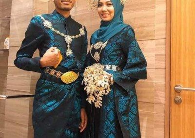 ملابس الزواج الماليزية التقليدية (15)