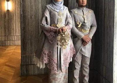 ملابس الزواج الماليزية التقليدية (16)