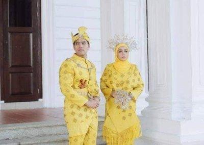 ملابس الزواج الماليزية التقليدية (17)
