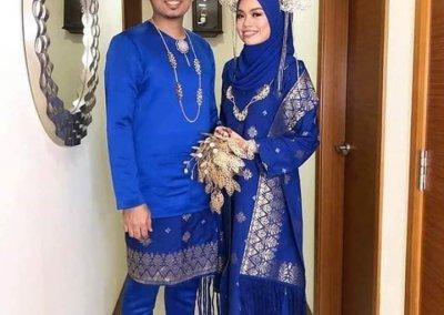 ملابس الزواج الماليزية التقليدية (18)