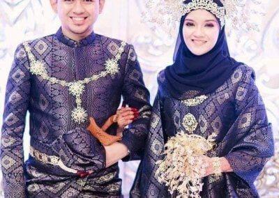 ملابس الزواج الماليزية التقليدية (19)