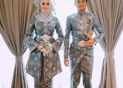 ملابس الزواج الماليزية التقليدية (2)