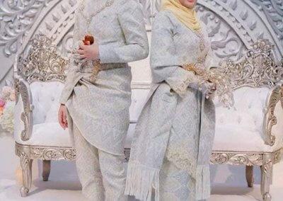 ملابس الزواج الماليزية التقليدية (21)