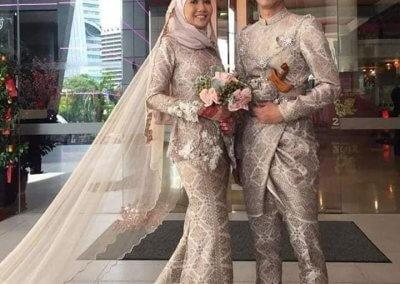 ملابس الزواج الماليزية التقليدية (23)