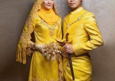 ملابس الزواج الماليزية التقليدية (3)