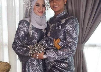 ملابس الزواج الماليزية التقليدية (5)