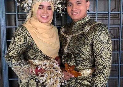 ملابس الزواج الماليزية التقليدية (6)