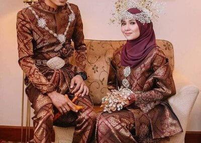 ملابس الزواج الماليزية التقليدية (7)