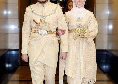 ملابس الزواج الماليزية التقليدية (8)