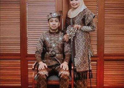 ملابس الزواج الماليزية التقليدية (9)
